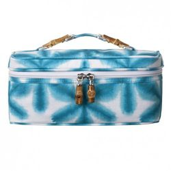 Small Train Case in Turquoise Star Print $16.99