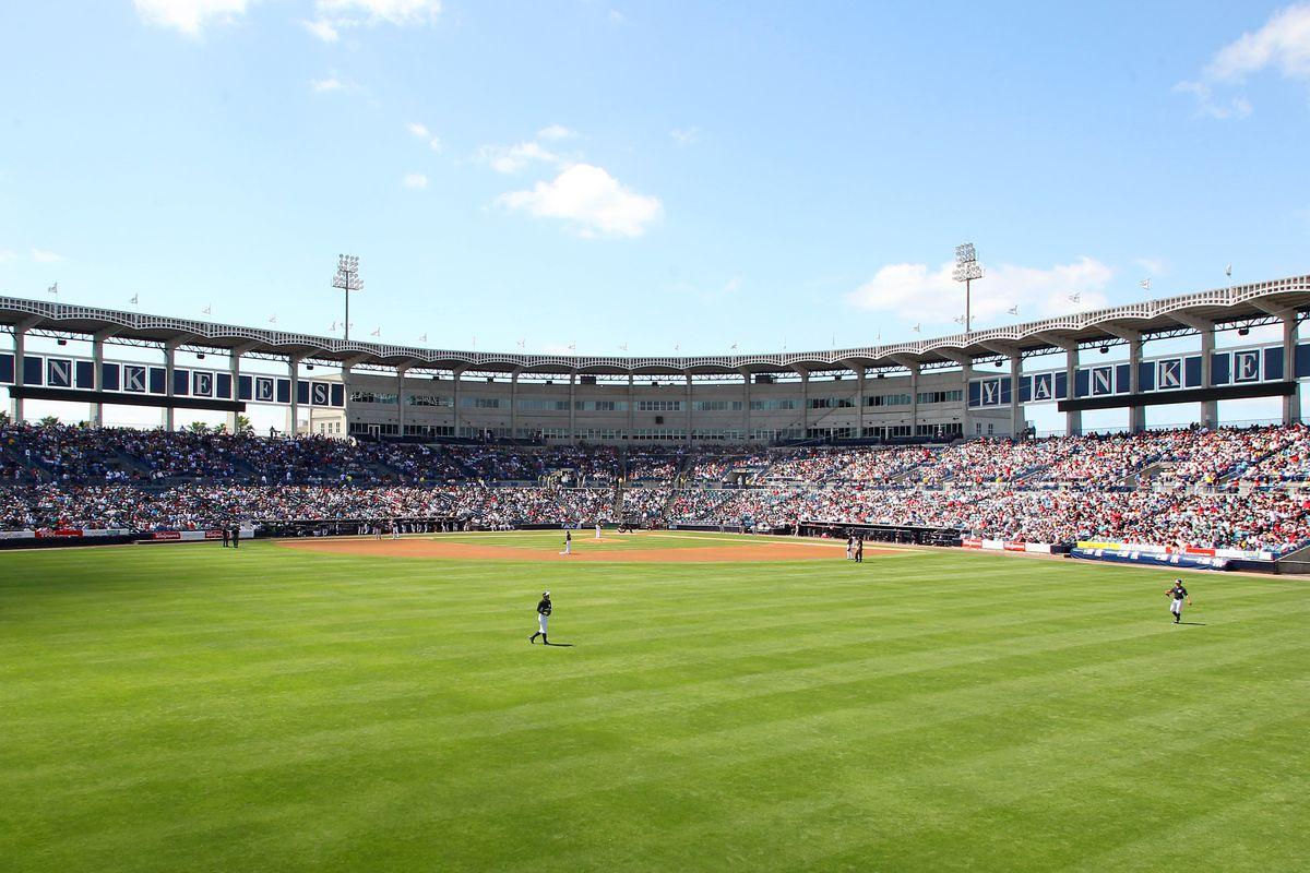 MLB: MAR 18 Spring Training - Red Sox at Yankees