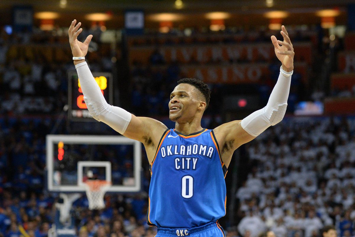 3a686048158fdc Thunder vs. Jazz  Russell Westbrook will never change