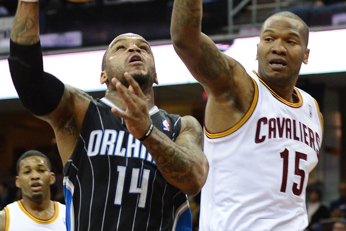 Alonzo Gee, Jameer Nelson, and Marreese Speights