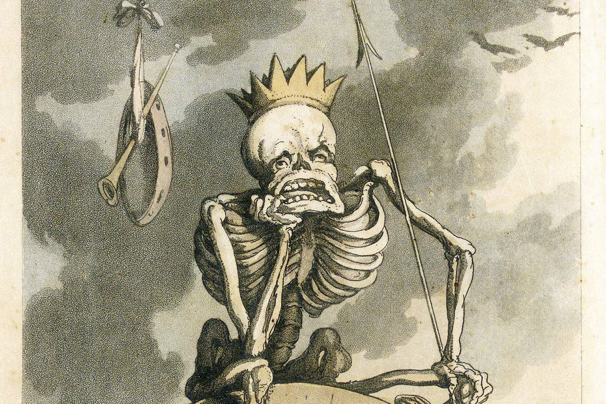 Frontispiece From The English Dance Of Death