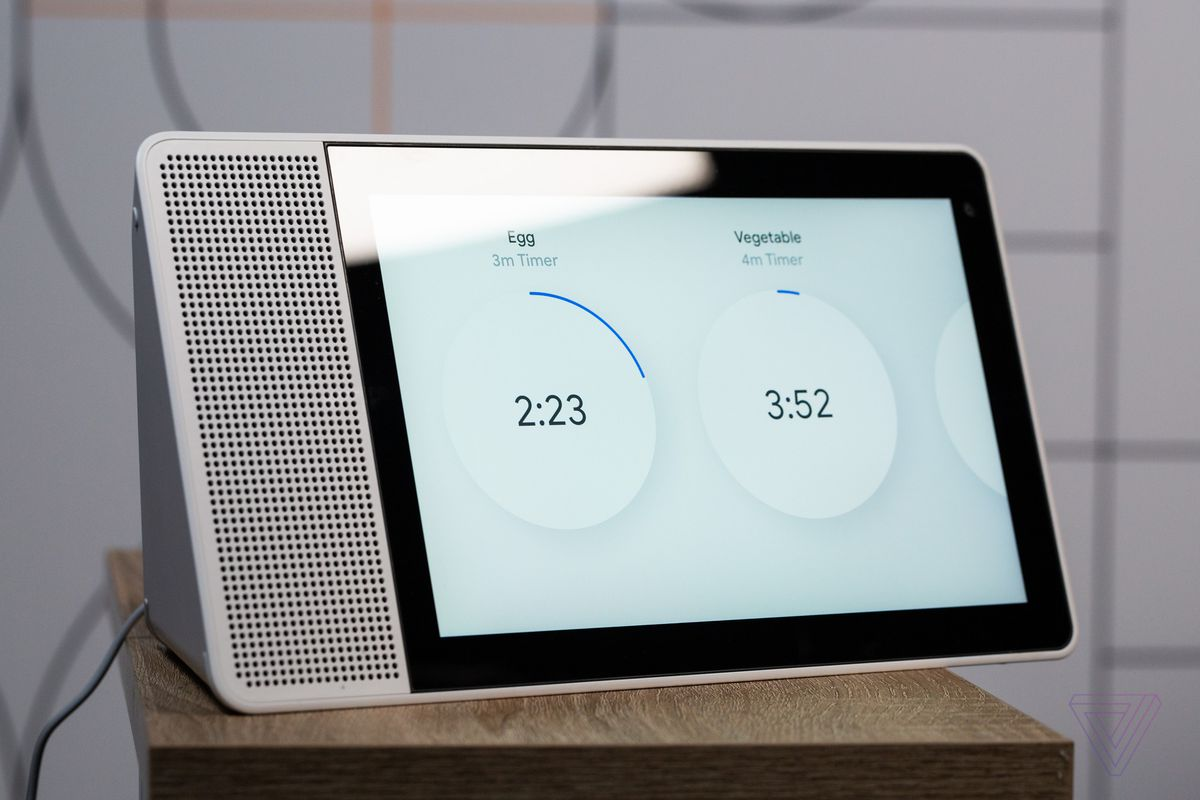 lenovo smart display review a google assistant speaker with a