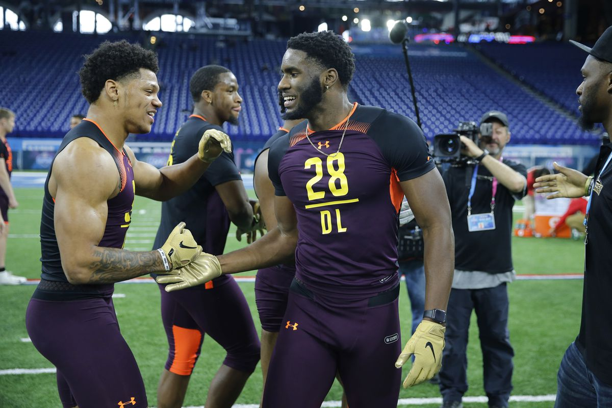 1235409478818 Brian Burns has the potential to be an impact player in his rookie year for the  Carolina Panthers