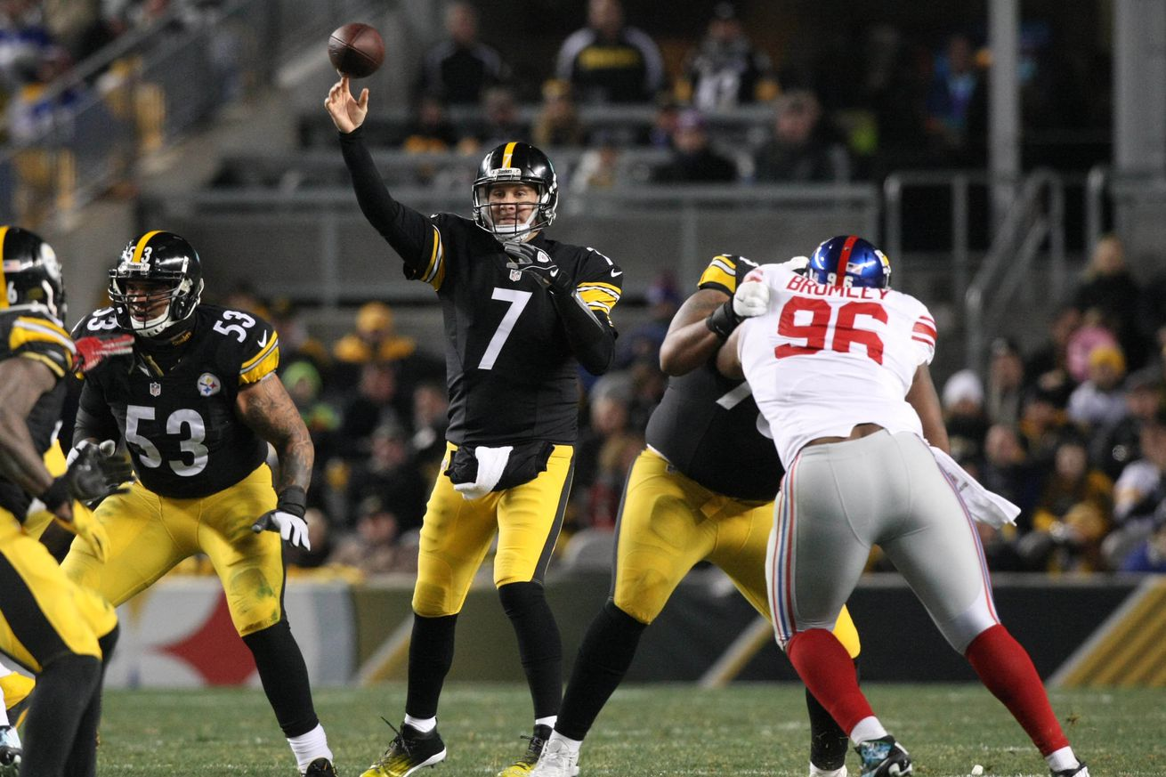 NFL: New York Giants at Pittsburgh Steelers
