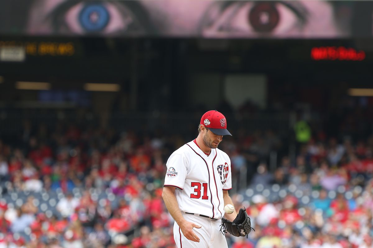 31c44abfa Washington Nationals' lineup for series opener with the Los Angeles Dodgers  in D.C.