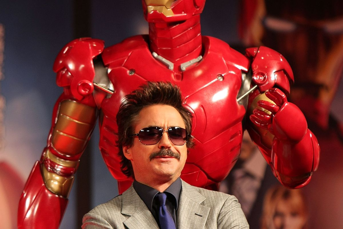'Iron Man' Press Conference