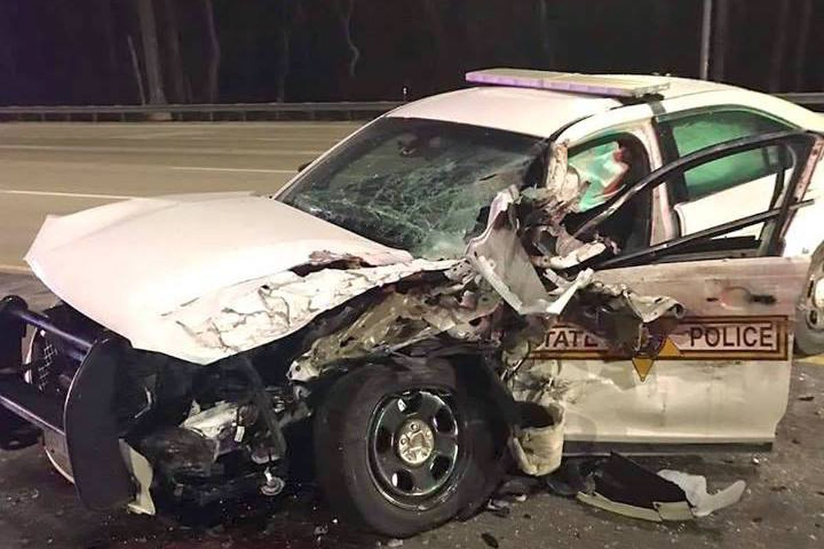Man charged with DUI after crash with ISP squad car - Chicago Sun-Times