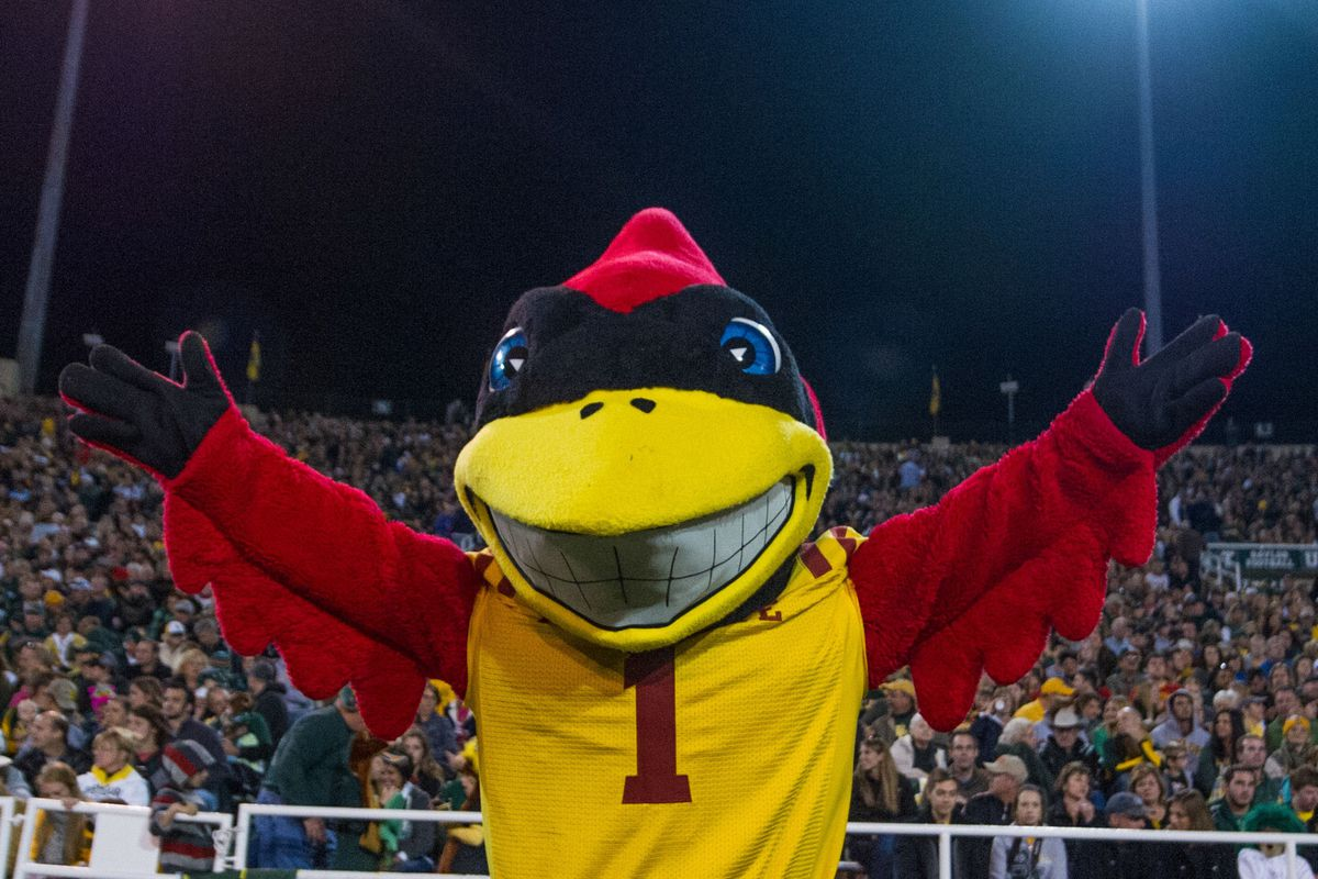 He doesn't look much like a cyclone to me.  More of a bird, really.