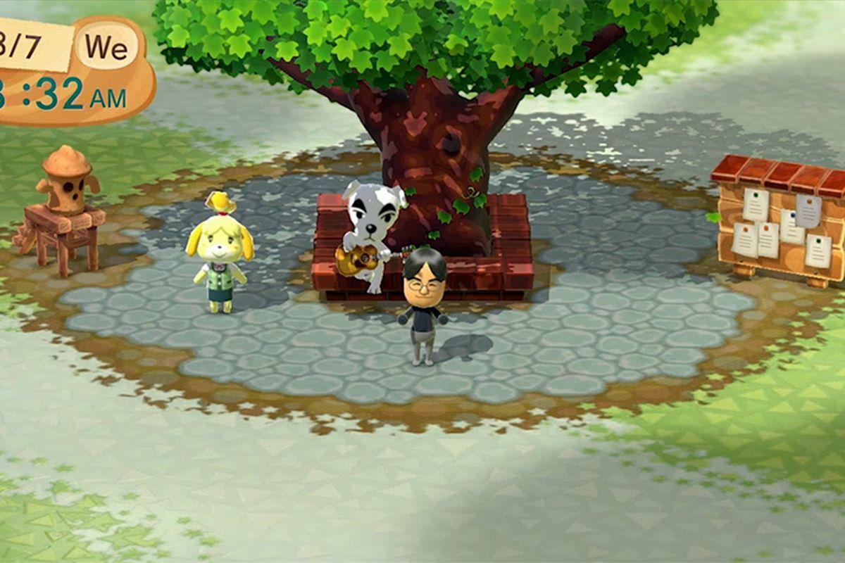 Mii-like Animal Crossing Plaza now available on Wii U - Polygon