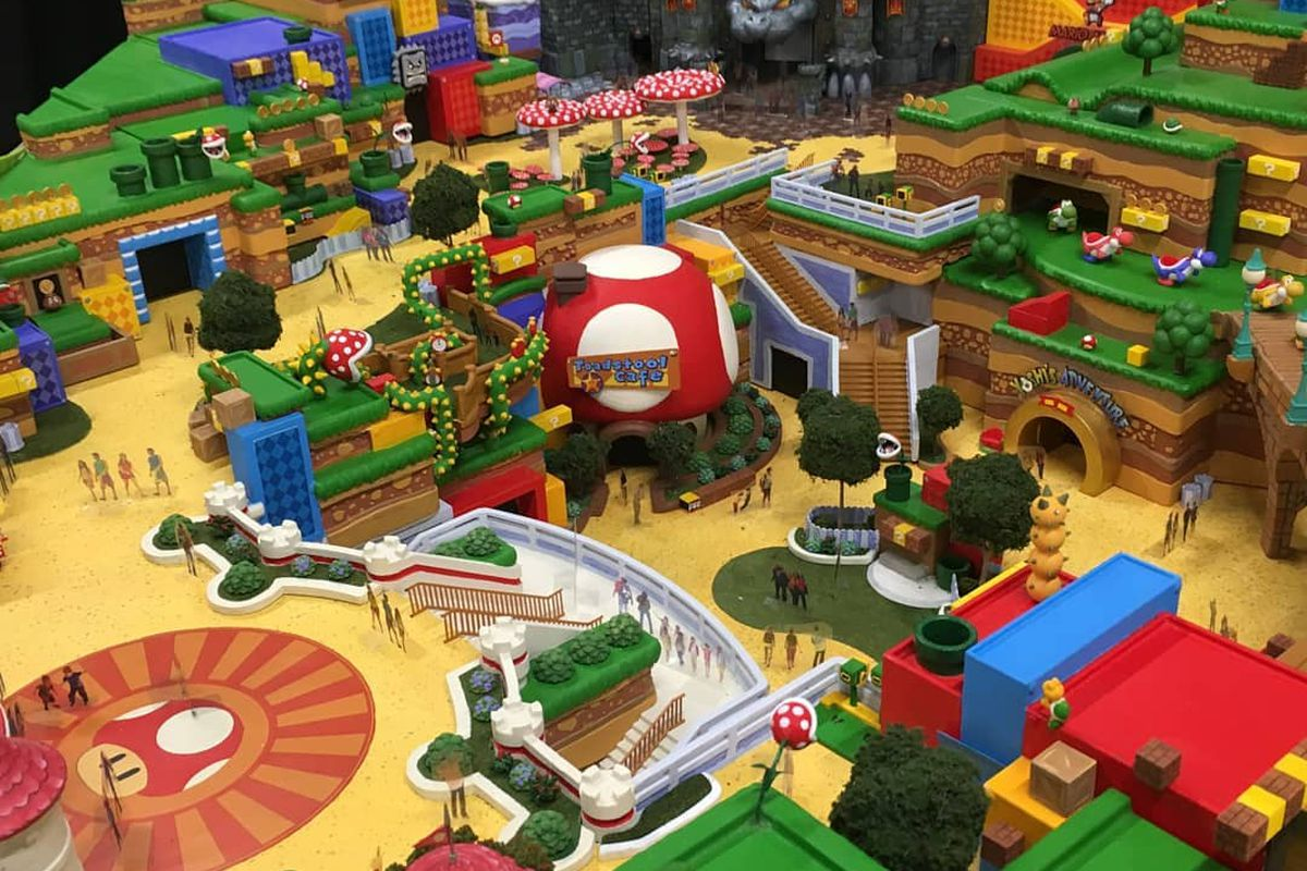 Image result for super nintendo world