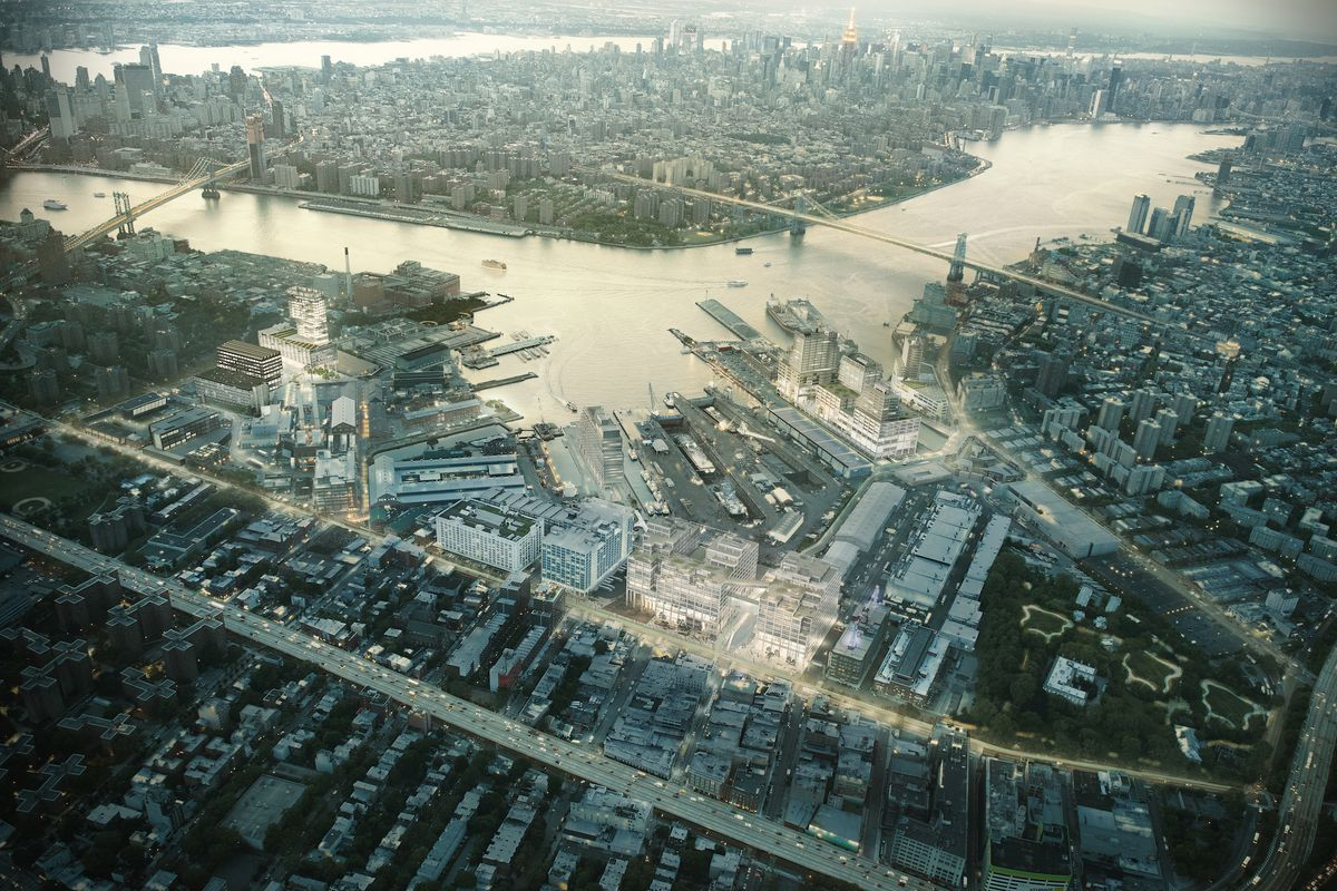 Brooklyn Navy Yard S New Master Plan Includes Vertical