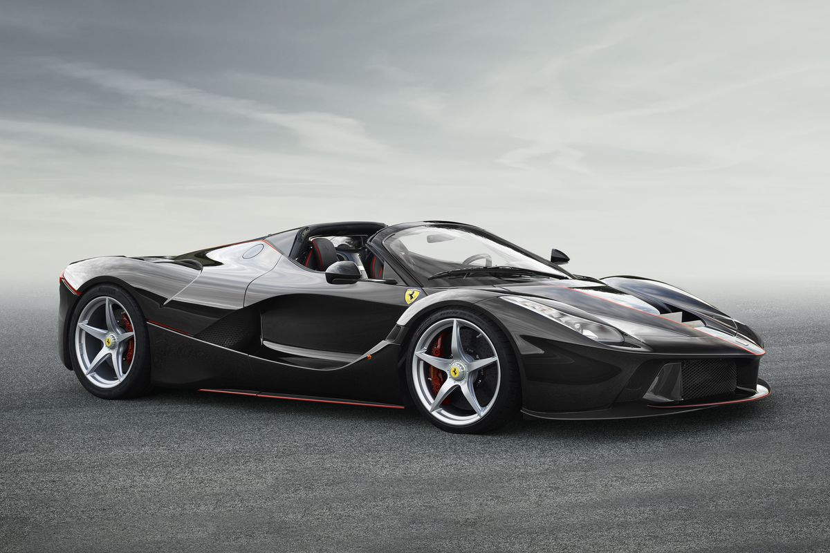 2018 Ferrari Laferrari Price >> The drop-top LaFerrari is magnificent, stupid fast, and sold out - The Verge