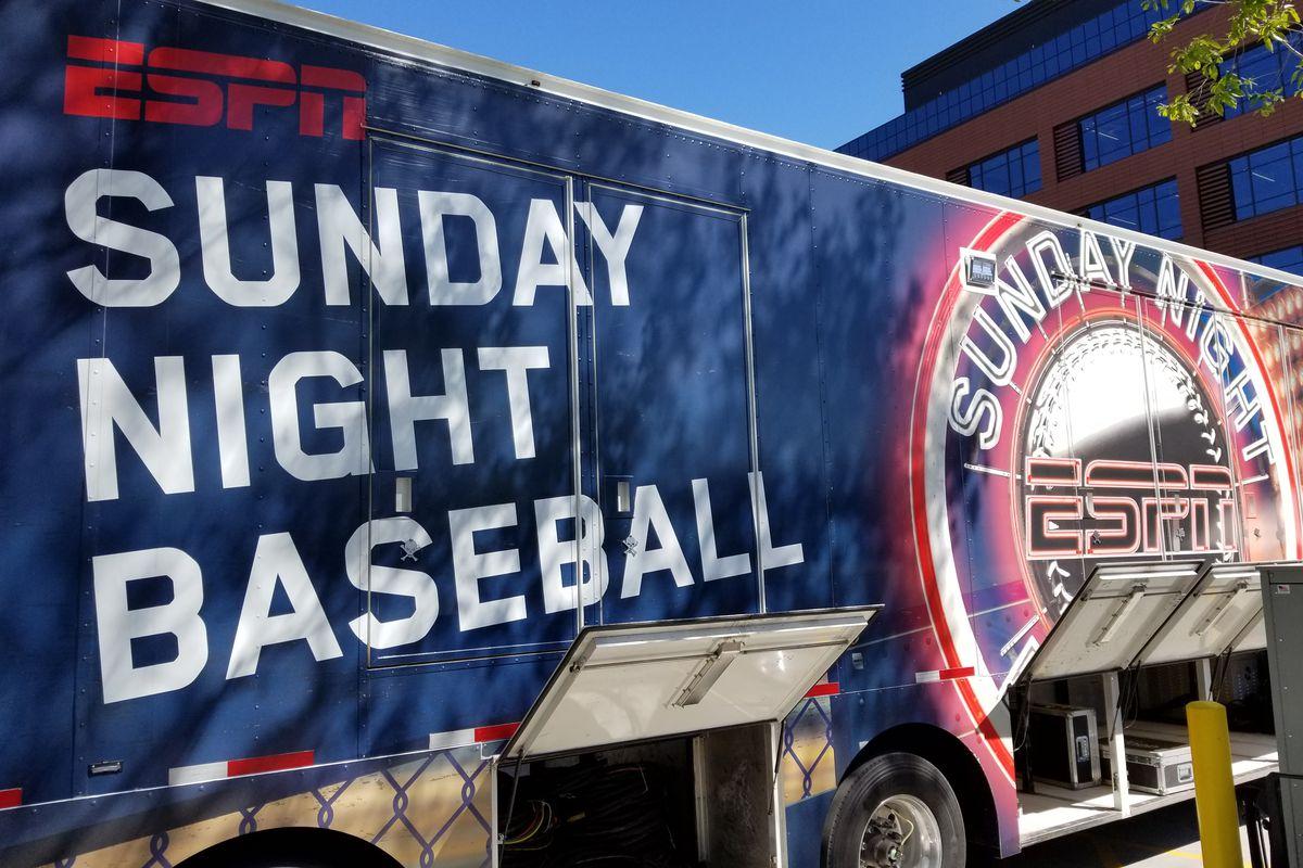 Espn Sunday Night Baseball Schedule 2019 ESPN Sunday Night Baseball will start an hour earlier in 2019
