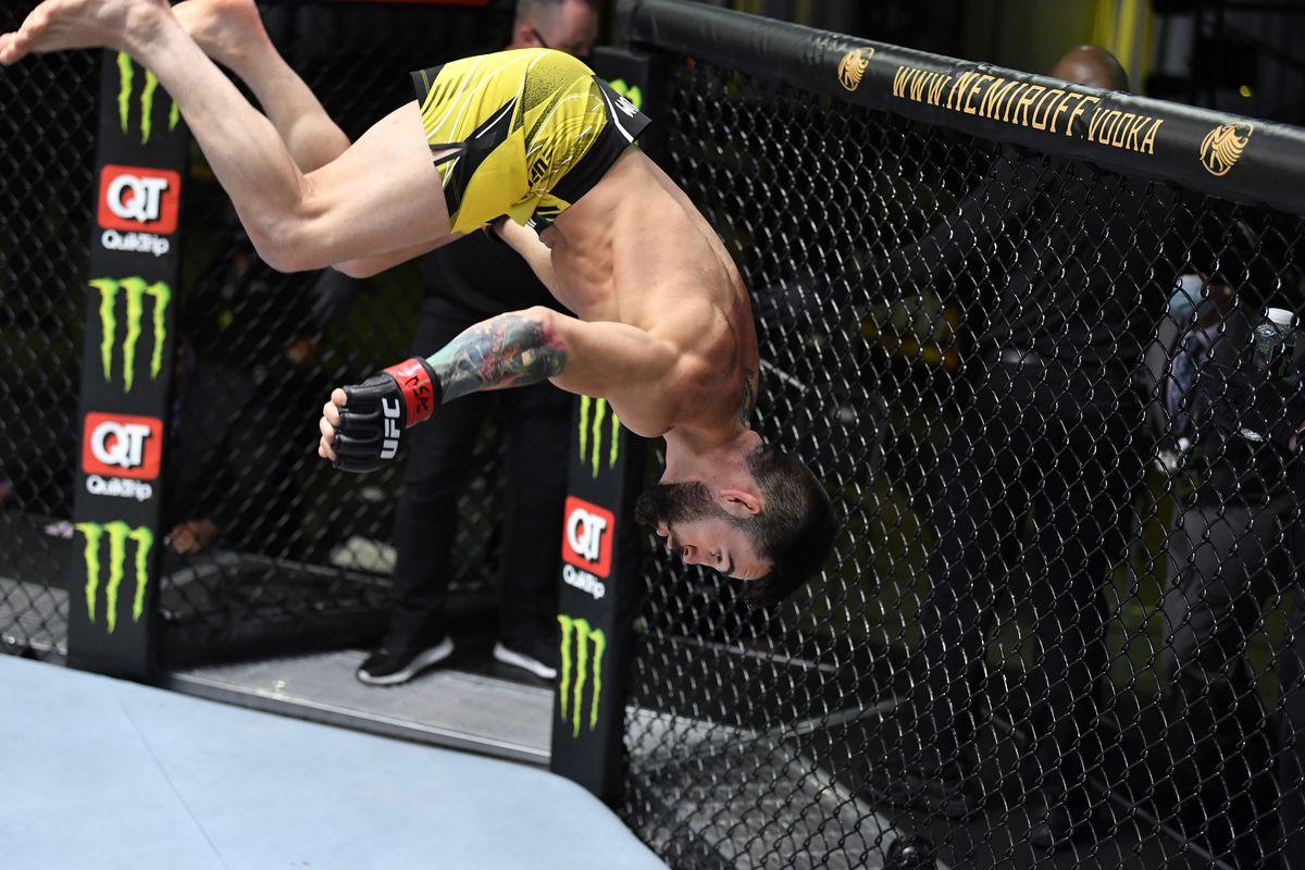 Bruno Silva made quick work of Victor Rodriguez at UFC Vegas 27