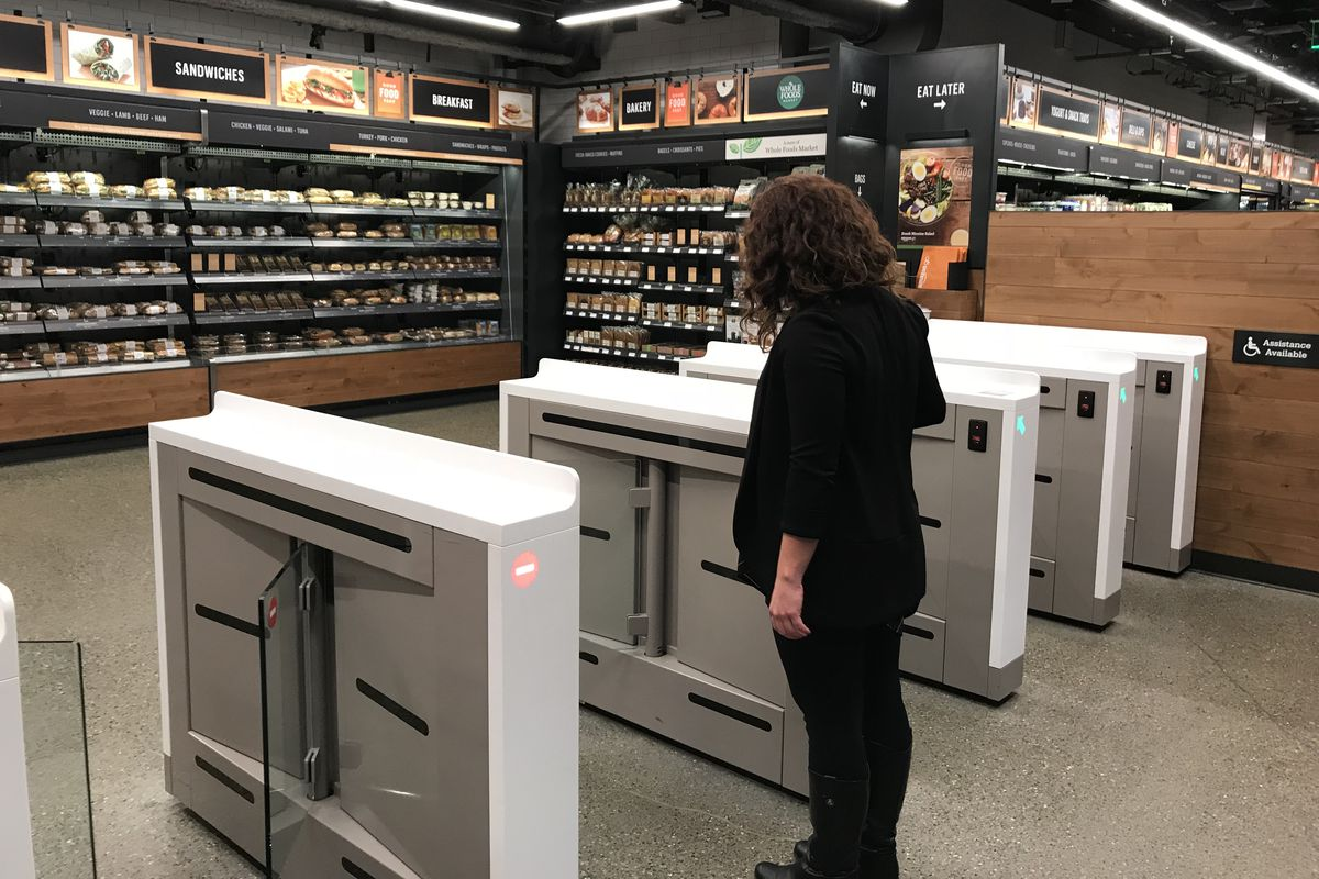 Image result for Amazon's store of the future: no lines, no cashiers