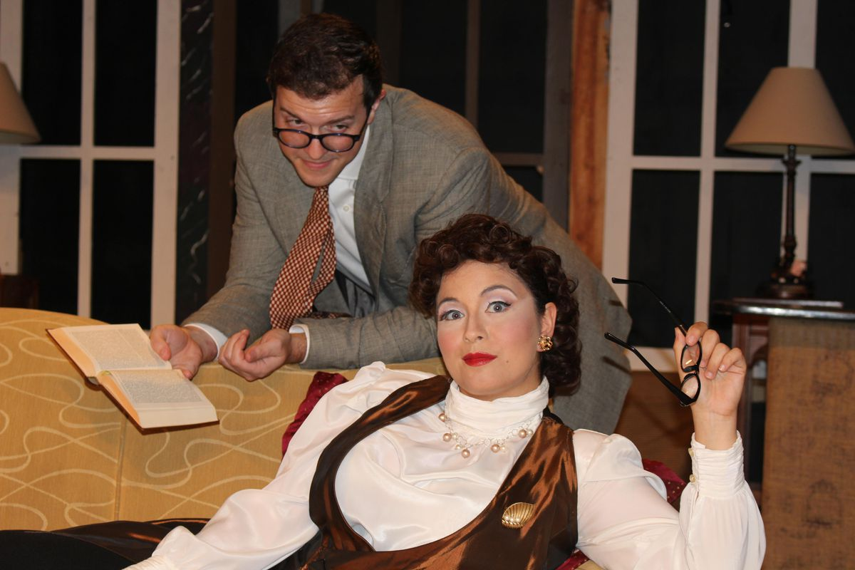 """""""Born Yesterday"""": Garson Kanin's classic play about an uneducated young woman who goes in search of an education; directed by Sean Michael Barrett. Oct. 15-Nov. 7. Saint Sebastian Players"""