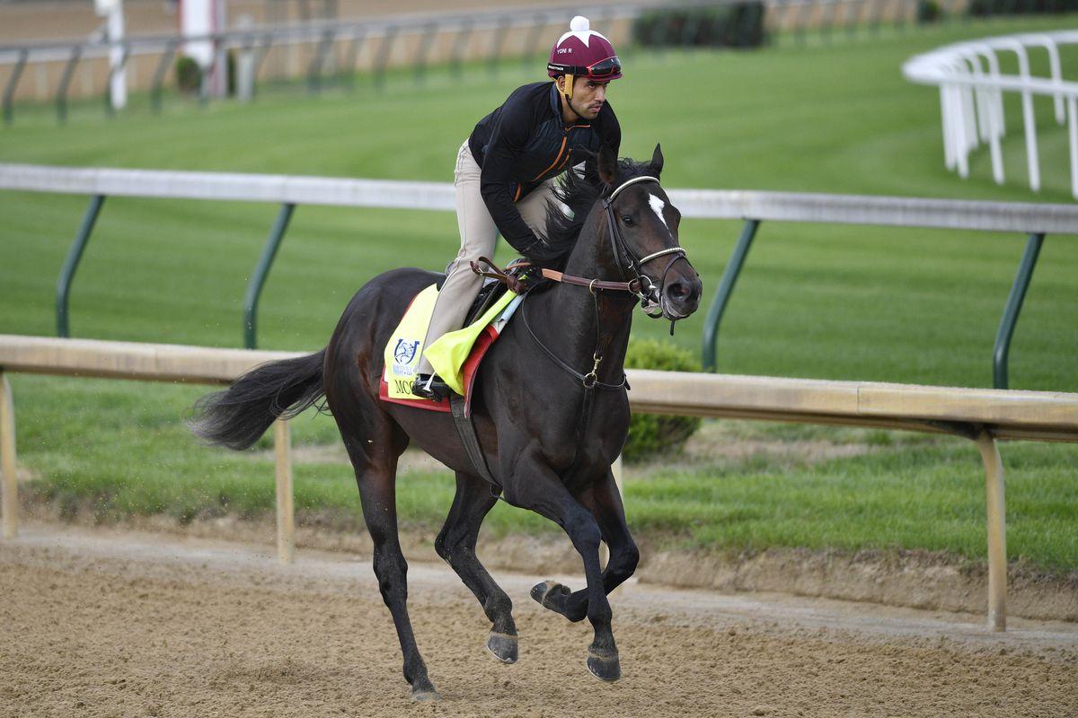 Horse Racing: Kentucky Derby-Workouts