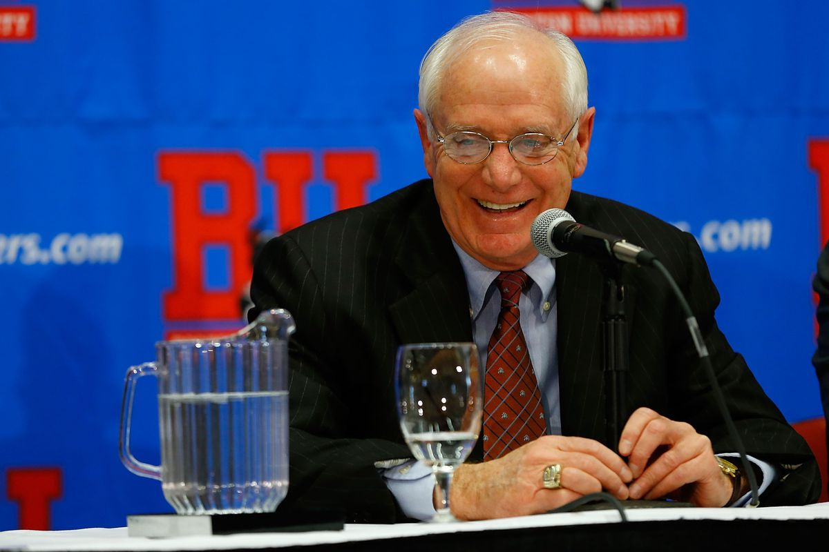 It didn't take Boston University long to find the successor to Jack Parker (pictured above).