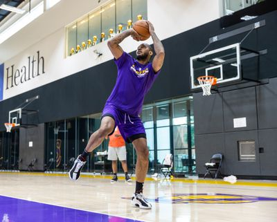 Los Angeles Lakers Shootaround