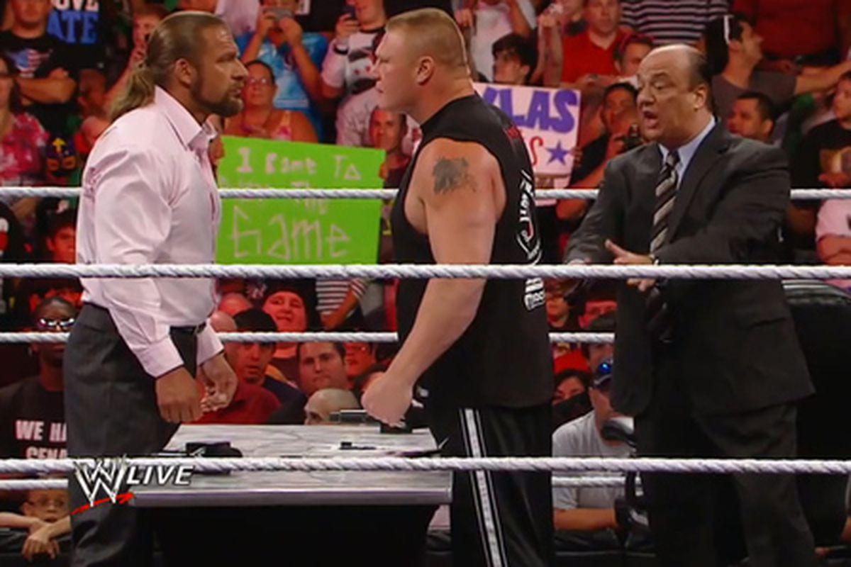 Wwe Raw Triple H  Hot Girl Hd Wallpaper-6716