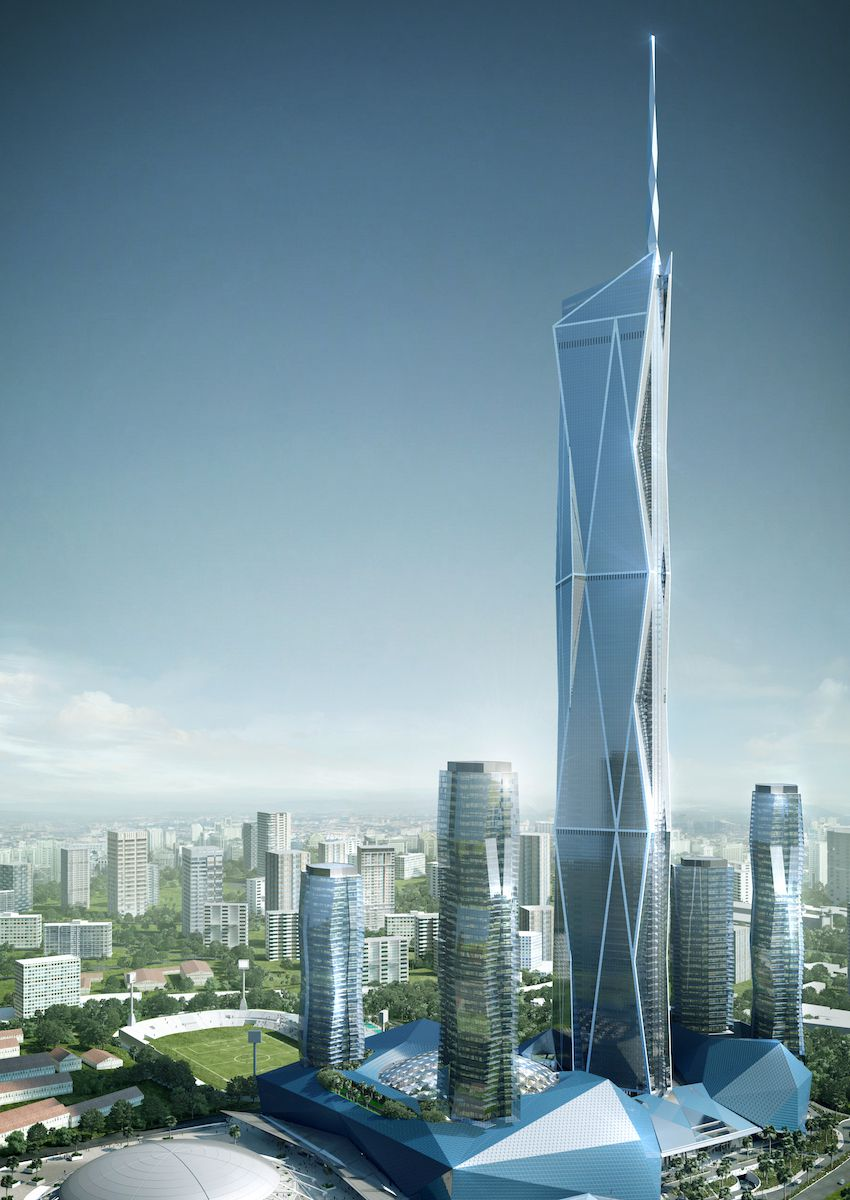 10 Tallest Buildings Under Construction Or In Development Around The