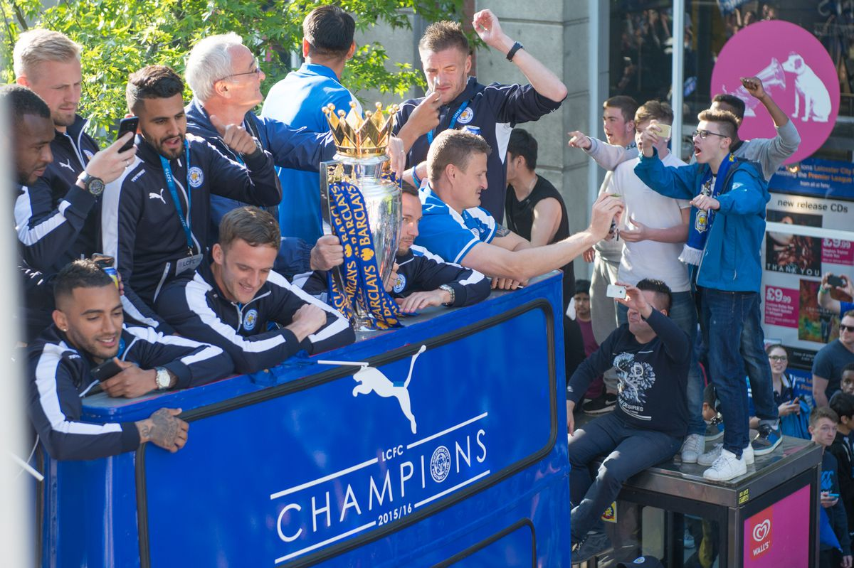Leicester City Victory Parade