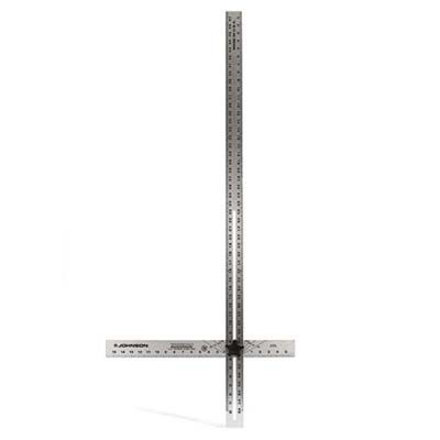 Adjustable T-Square looks like two perpendicular rulers.