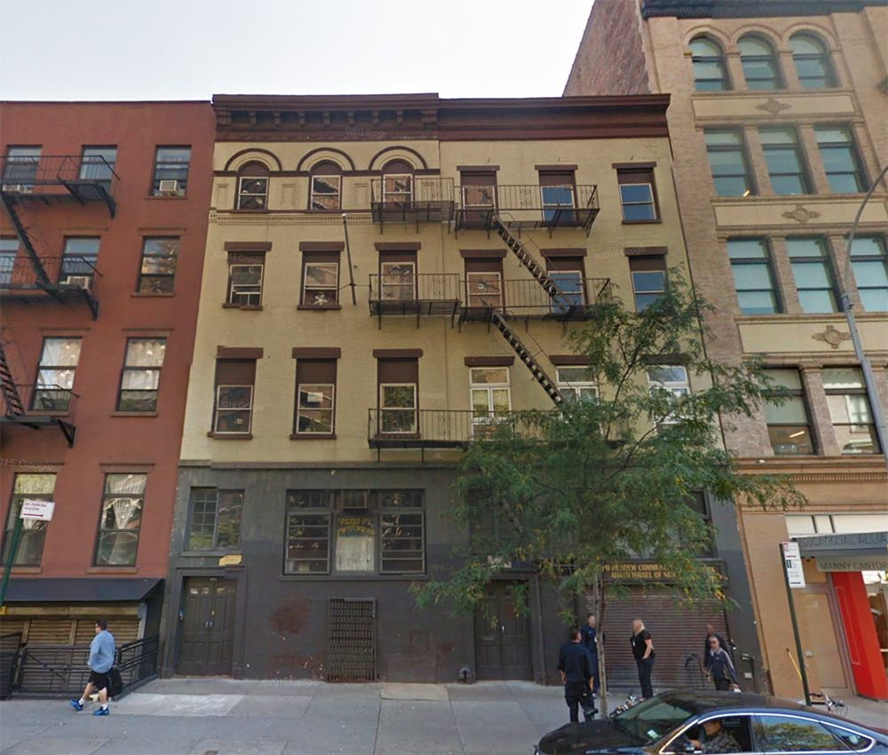 Two 180 Year Old Tenement Buildings Were Dismantled In 2017 To Make Way For A Seven Story Modular Building First The Lower East Side
