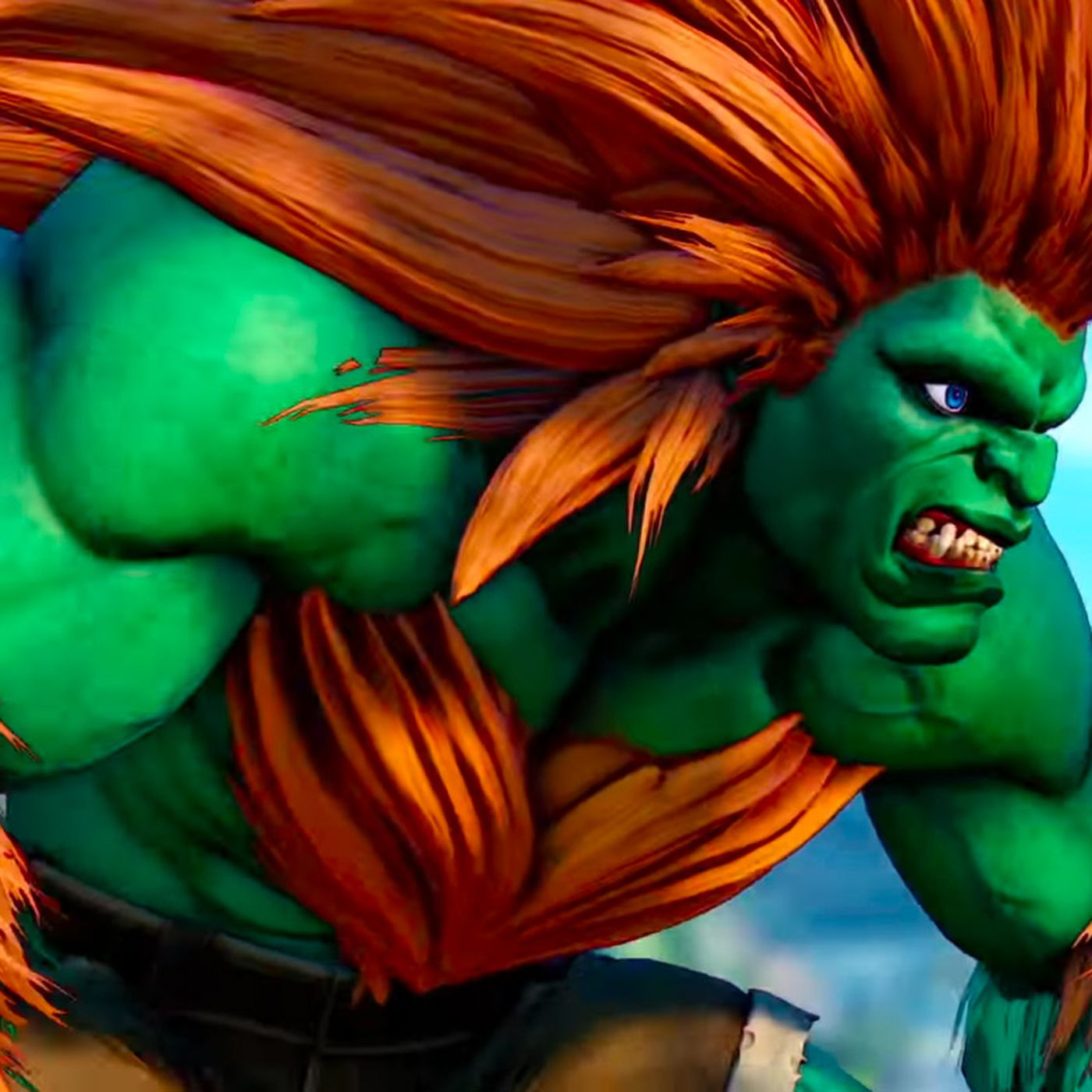 Here S Blanka In Street Fighter 5 Polygon