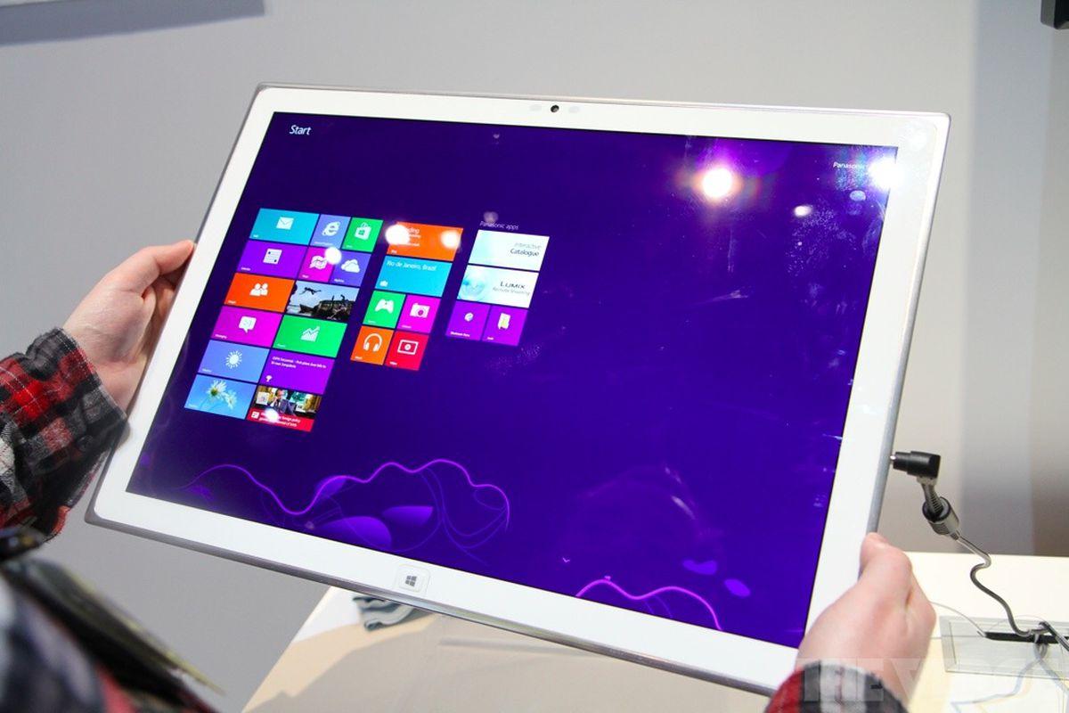 Gallery Photo: Panasonic 4K Windows 8 tablet hands-on photos