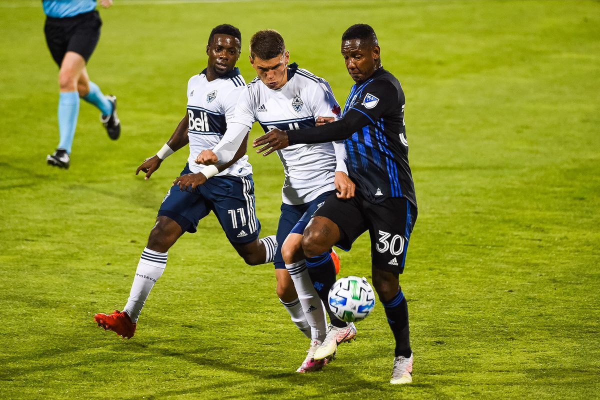 SOCCER: AUG 25 MLS Vancouver Whitecaps at Montreal Impact