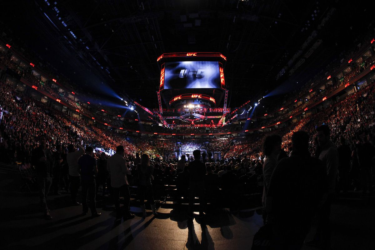 The Bell Centre in Montreal was the host for UFC 154 on Saturday night.