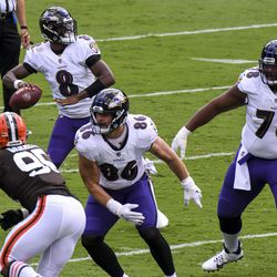September 2020: In Week 1, the Cleveland Browns got off to a rocky start, losing to the Baltimore Ravens by a score of 38-6. Down 7-0 and backed up in their own territory, Jamie Gillan tried a fake punt that didn't succeed. Austin Seibert missed an extra point in the first quarter. Just before halftime, the Browns were in position for a scoring drive. Odell Beckham dropped an open pass on third down — then Seibert missed a field goal, and the Ravens scored a quick touchdown, marking a huge turnaround in Baltimore's favor the rest of the way.