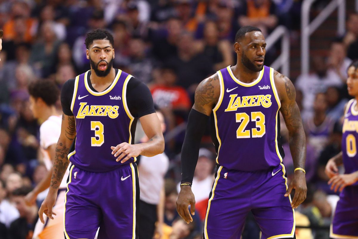 Lakers Anthony Davis Can Always Learn More From Lebron
