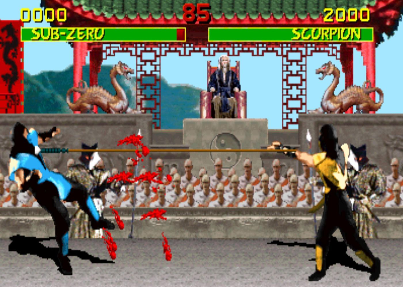 Nearly 30 years ago, Mortal Kombat's blood forever changed the video game  industry - Polygon