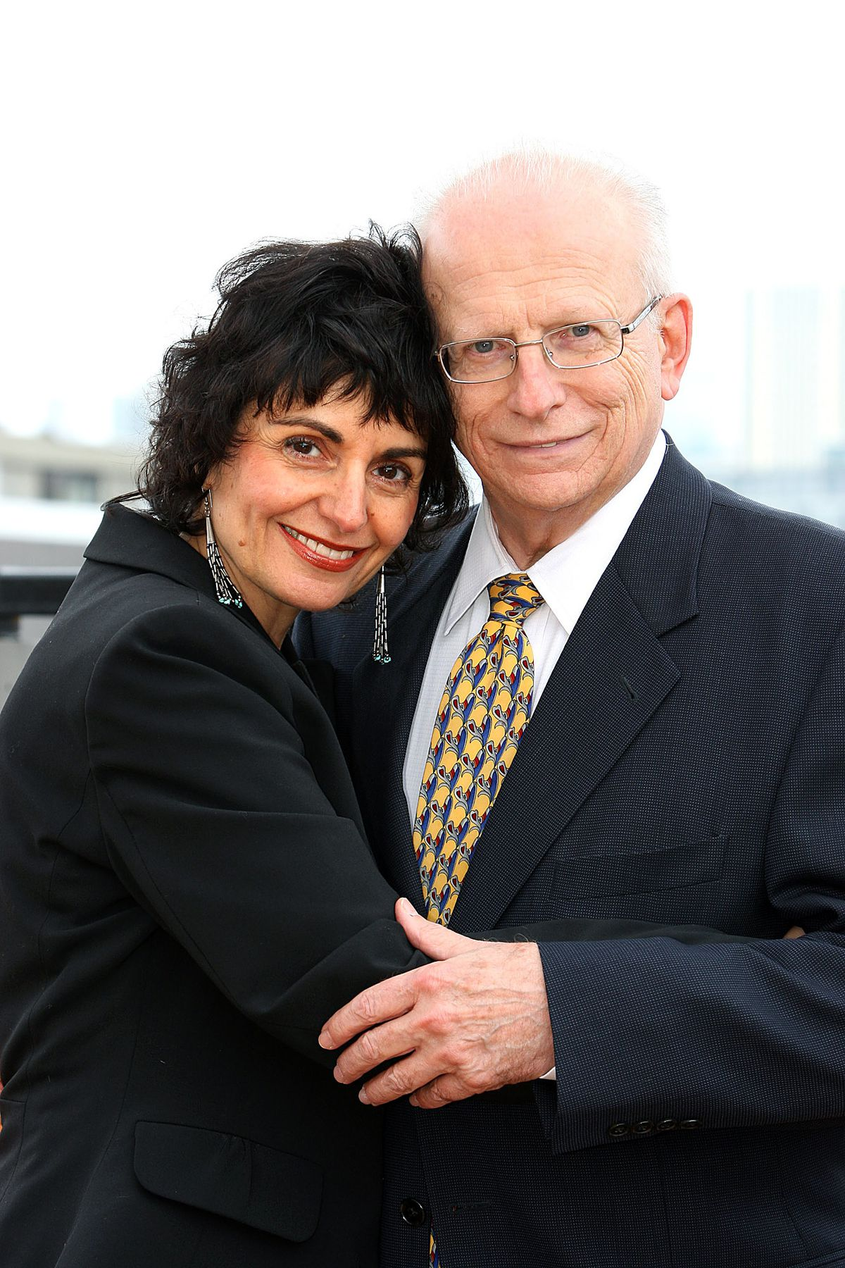 Bill Becker and Lauralea Suess, his second wife.