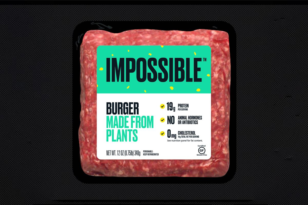 Impossible Burgers are hitting their first grocery stores tomorrow - The  Verge