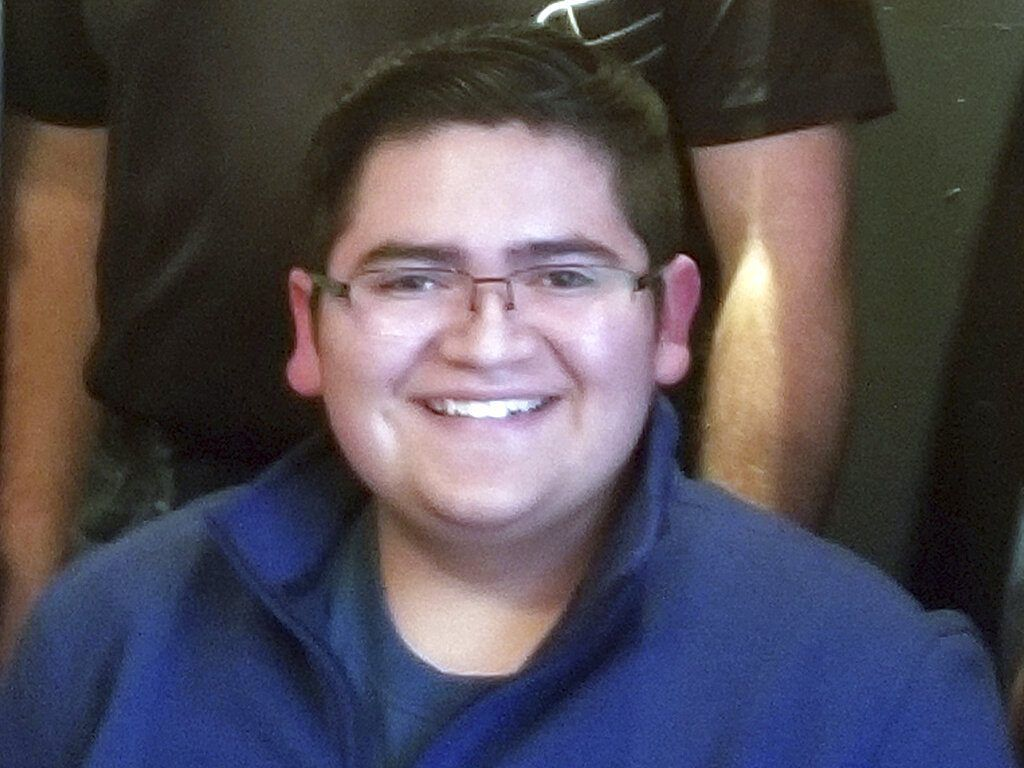 This undated photo provided by Rachel Short shows Kendrick Castillo, who was killed during a shooting at the STEM School Highlands Ranch on Tuesday, May 7, 2019, in Highlands Ranch, Colo. | Rachel Short via AP