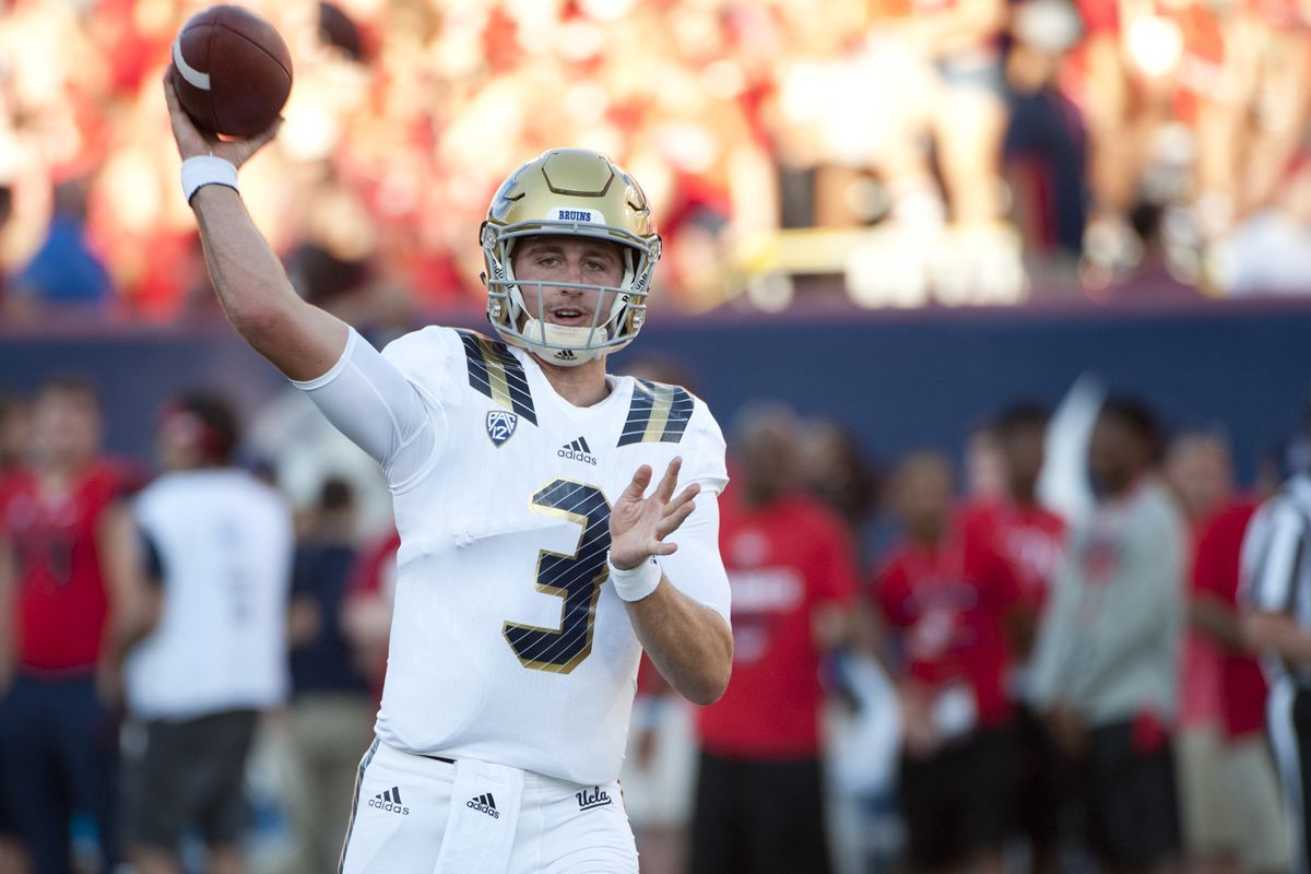 How will Josh Rosen and the Bruins play in the Corvallis rain?