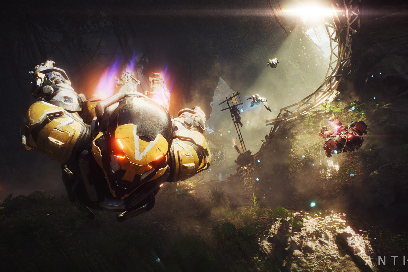watch 20 minutes of bioware s anthem in action