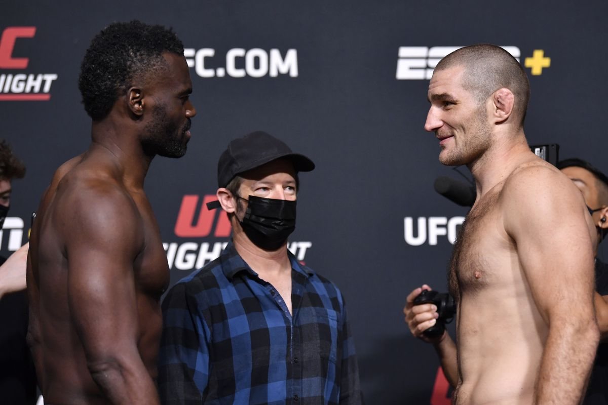 UFC Vegas 33 Results: Hall vs. Strickland - MMA Fighting