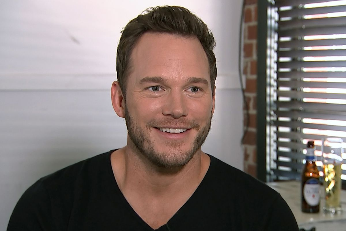 This Aug. 14, 2018, image taken from video shows actor Chris Pratt during an interview at the Fellow Bar in Los Angeles.