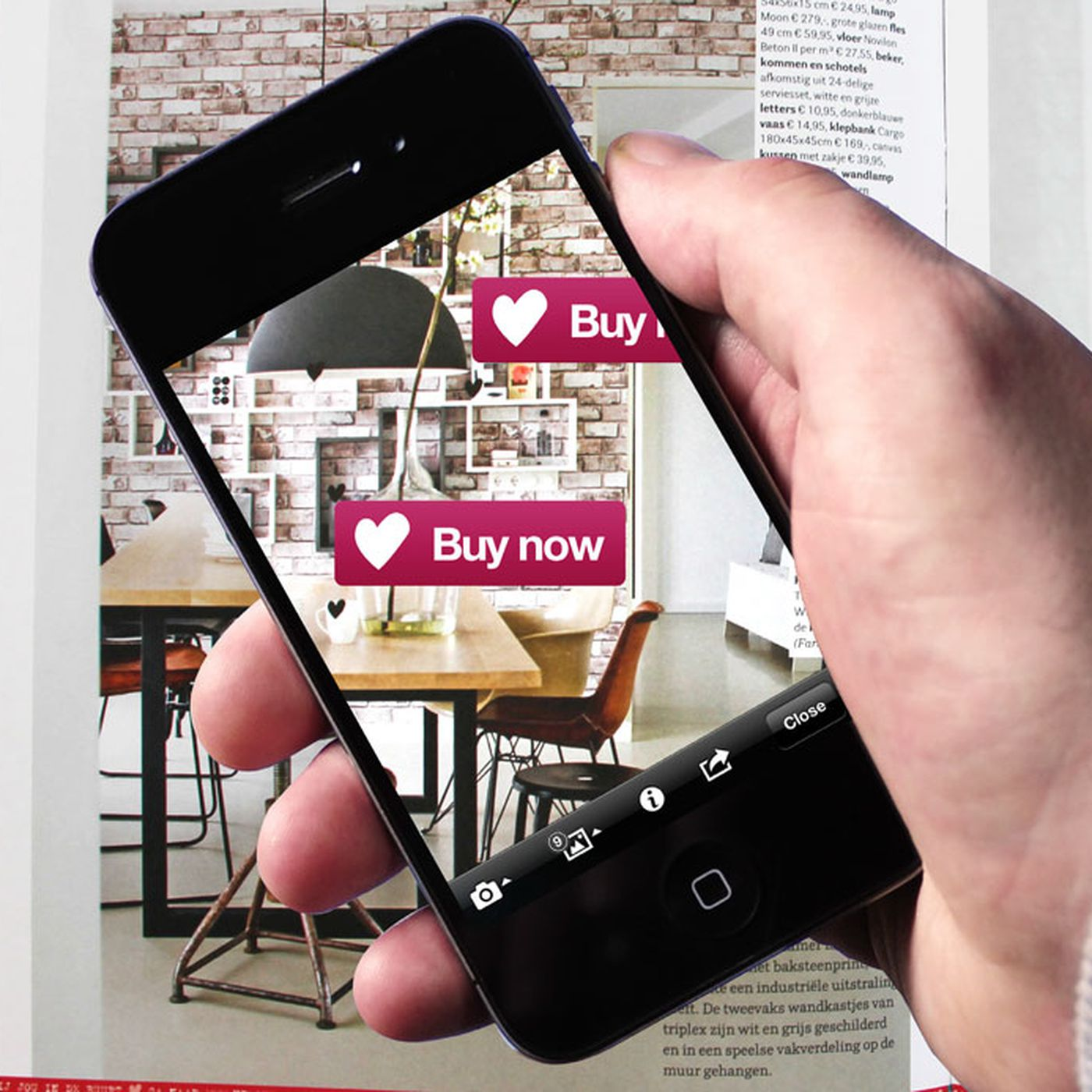 Energy Plus Kussen.Layar Creator Brings Interactive Augmented Reality To Print Media