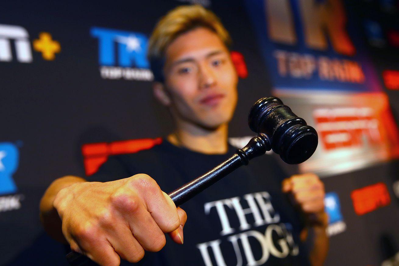 Masayuki Ito the judge.0 - Odds: Ito-Herring, Trout-Gausha, Haney-Moran, more