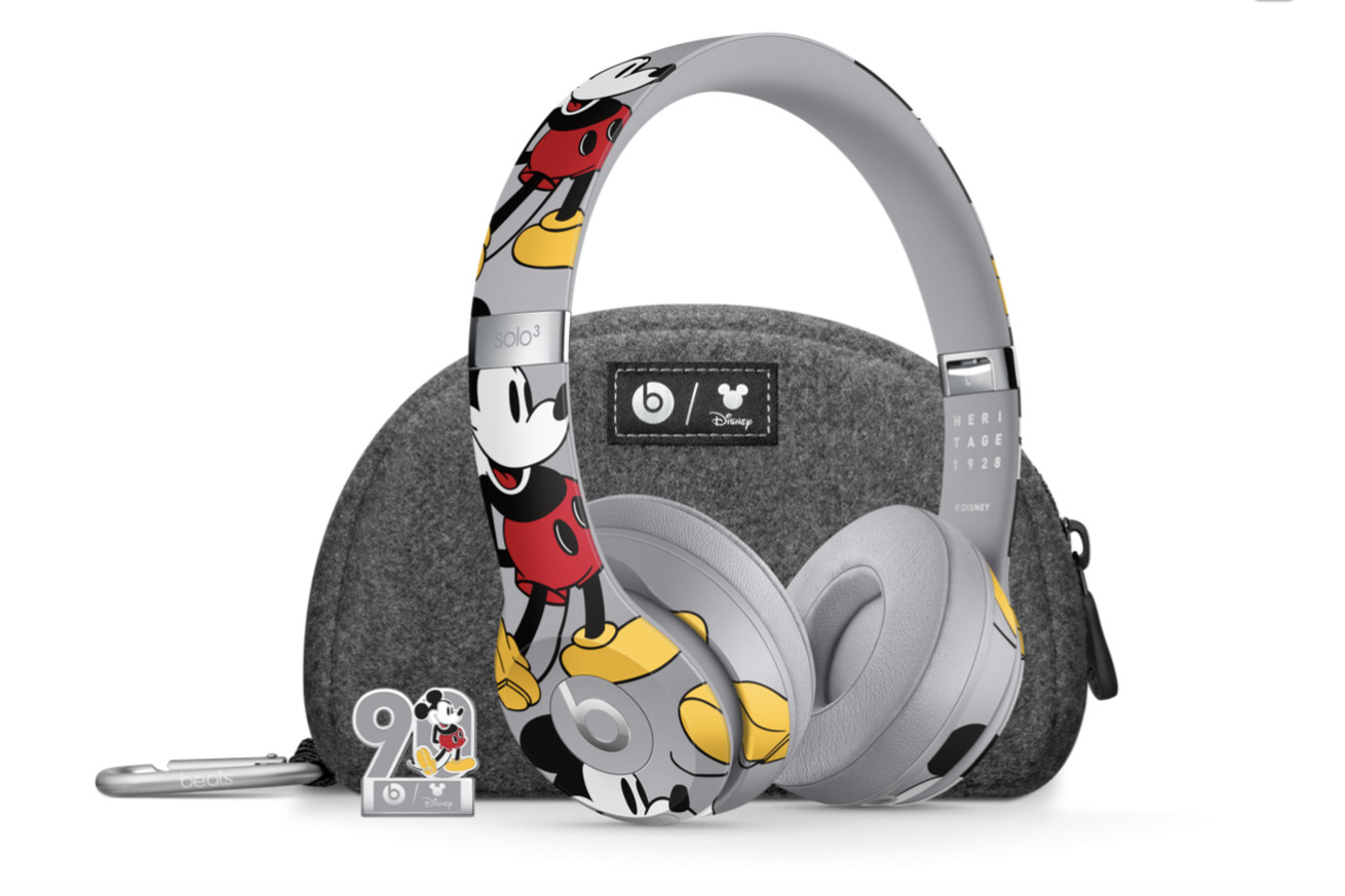 beats by dre is launching a mickey mouse edition of its solo 3 headphones