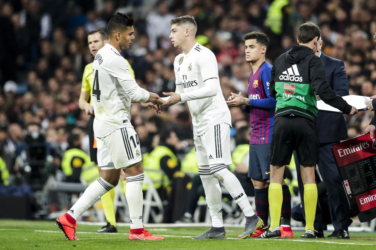 Fede Valverde: ?I will always be grateful to Casemiro, he gives me a lot of advice?