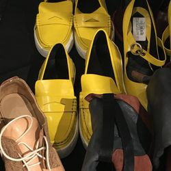 Sample shoes, $95