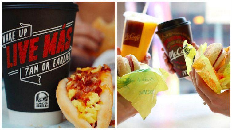 Taco Bell/Facebook McDonald's/Facebook