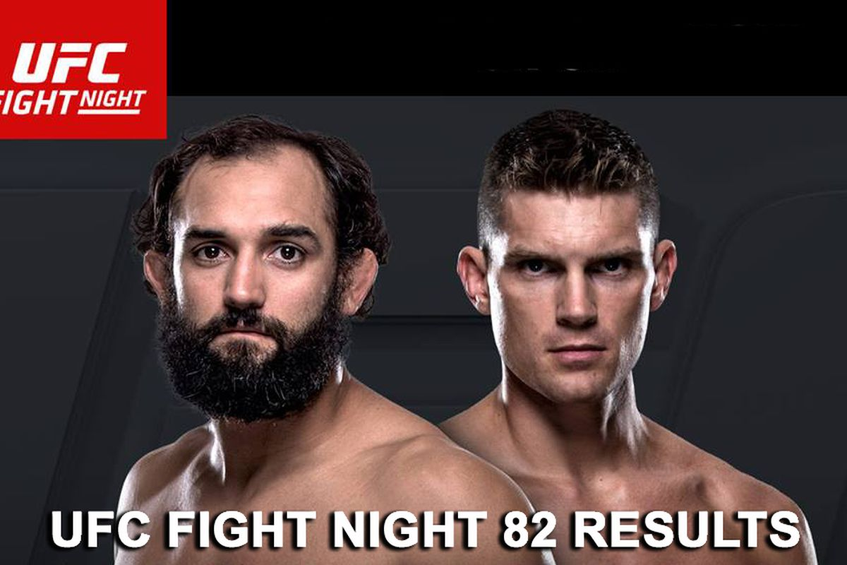 UFC Fight Night 82 live stream...