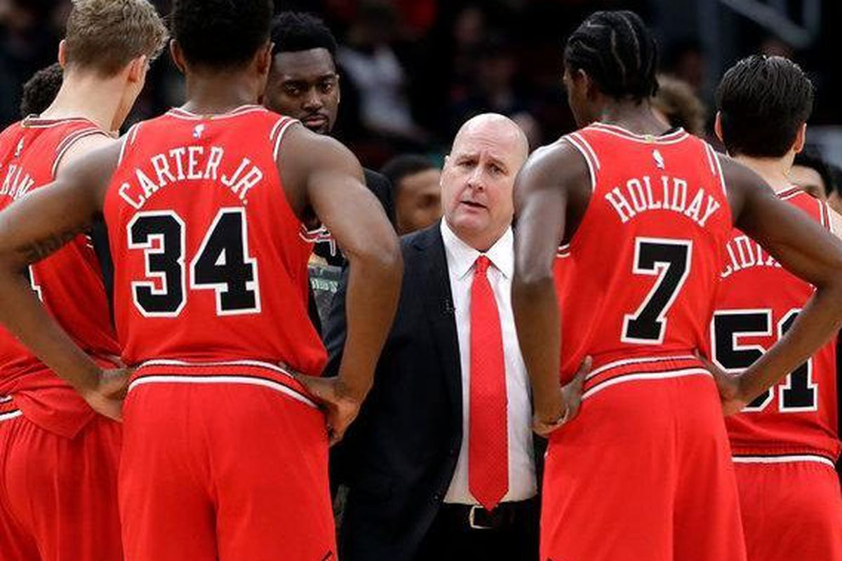 406e40db4c0c Coach Jim Boylen isn t disregarding the Sunday-morning player circus that  took place under his watch